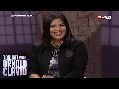 [GMA]  Tonight with Arnold Clavio: Ano kaya ang ideal man ni MMDA Asec. Celine Pialago?