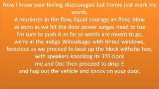 Eminem-Hell Breaks Loose (lyrics)