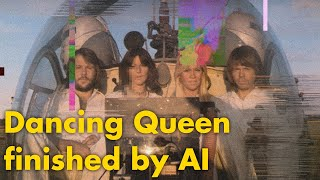 Dancing Queen by ABBA but it's continuously generated by AI (OpenAI Jukebox)