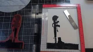 Veteran's day card/ military tribute card