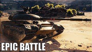 Объект 140 ЗЛОСТНЫЙ НАГИБ 🌟 EPIC BATTLE 🌟 World of Tanks лучший бой на ст 10 уровень об 140