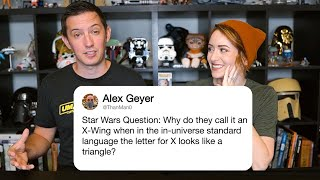 Star Wars Experts Answer Questions From Twitter | Tech Support | WIRED