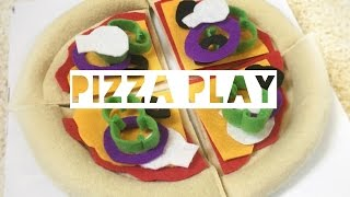DIY FELT PIZZA PLAY SET | Kids Craft - Mummy Maker