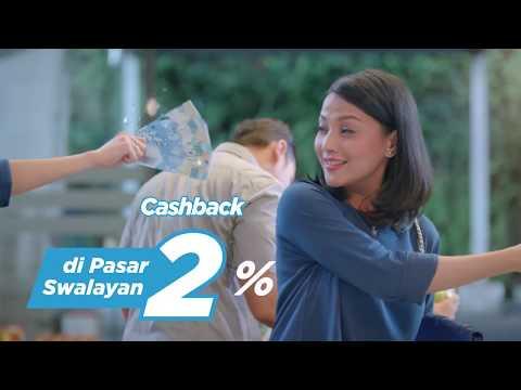 BRI Easy Card - Cashback 2% Belanja di Pasar Swalayan