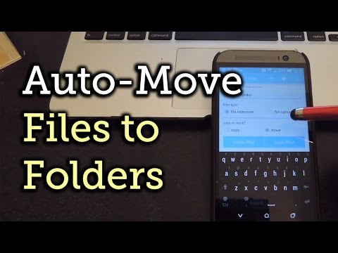 Auto-Move Organises Downloaded Files For Android