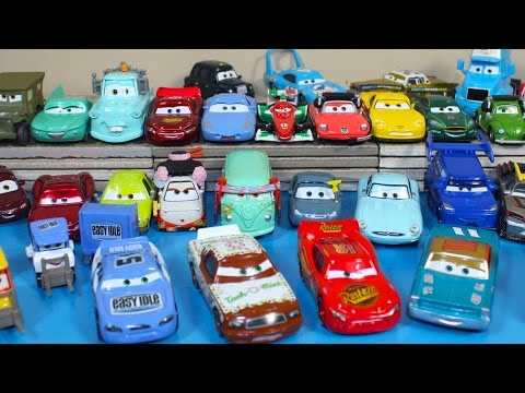 NEW 2015 DISNEY PIXAR CARS LIGHTNING MCQUEEN TACH O MINT TUNERS DRIFT DINOCO CAR TOYS