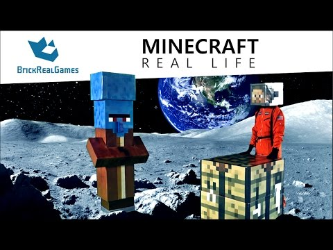 Moon Mission: Minecraft Real Life