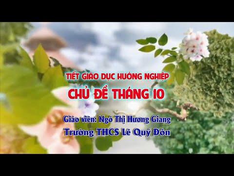 Chuyên đề: Giáo dục hướng nghiệp, Trường THCS Lê Quý Đôn, TP. Tuyên Quang