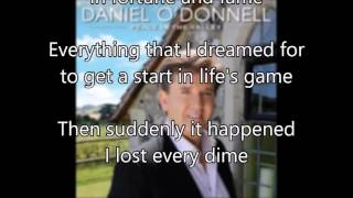 10. A Satisfied Mind - Daniel O'Donnell