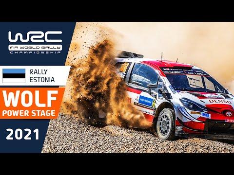 WRC 2021 第7戦ラリー・エストニア パワーステージのハイライト動画