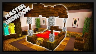 Minecraft - How To Make A Master Bedroom