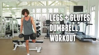 Legs and Glutes Dumbbell Workout | The Body Coach by The Body Coach TV