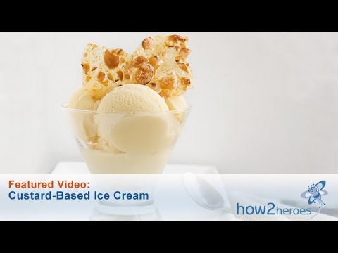 Video Custard Based Ice Cream