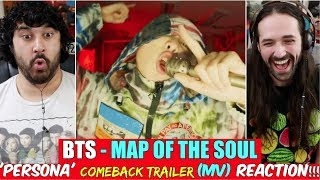 BTS 방탄소년단 MAP OF THE SOUL PERSONA 'Persona' Comeback Trailer - REACTION!!!