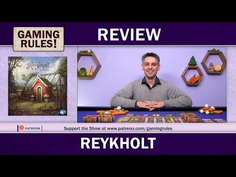 Reykholt - A Gaming Rules! Review