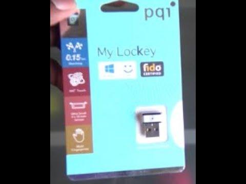 PQI Mini USB Fingerprint Reader for Windows 7,8 & 10 Hello