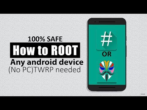 Safely How to ROOT any android device No PC (TWRP needed)