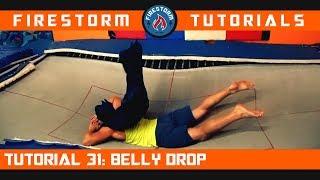 Trampoline Tutorial 31: Belly Drop