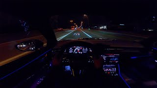 2020 AUDI RS6 C8 | NIGHT DRIVE POV by AutoTopNL