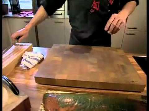 Kai Shun Wiegemesser, Schinkenmesser und Ausbeinmesser richtig einsetzen