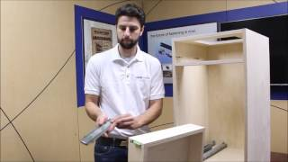 Attaching a Lockdowel Sidemount Drawer Slide