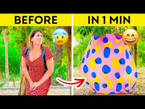 , title : 'ONE-MINUTE DIY OUTDOOR TOILET🚽 Road Trip Hacks & Tips To Make Your Experience Way More Fun