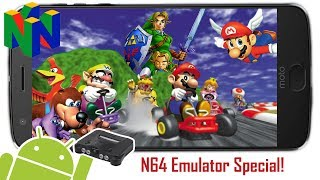 WHAT IS THE BEST NINTENDO 64 EMULATOR FOR ANDROID? - N64 Emulator Special + Gameplay!
