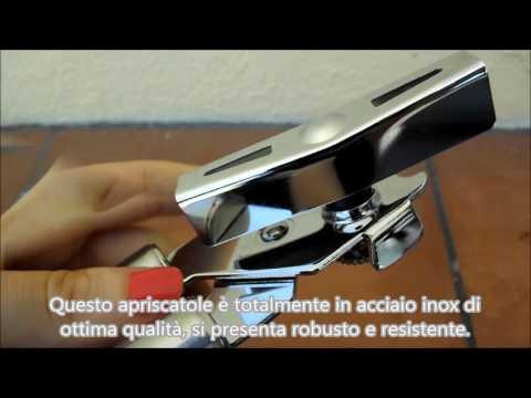 Apriscatole conserve in acciaio inox logei®
