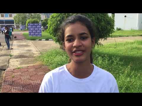 Soumya from Sri Venkateshwara college shares for Rally for Rivers