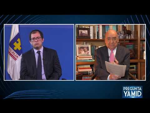 Pregunta Yamid: Francisco Barbosa, Fiscal General de la Nación (6 de abril de 2020)