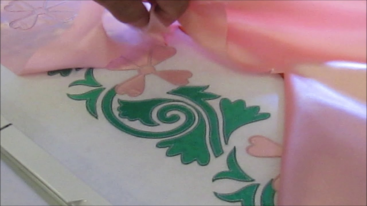 LaserBridge-Complex Applique Flower Design.