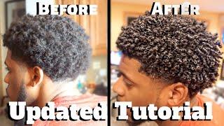 Mens Curly Hair Tutorial Pt.2 | Define Curls Natural Hair