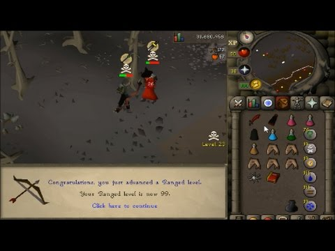 Video OSRS 1-99 Range Guide Cost and Time Calculations Different Methods