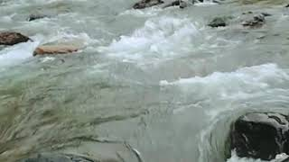 preview picture of video 'Reshi River flow at Rishi khola (আমি- ইন্দ্রজিৎ)'