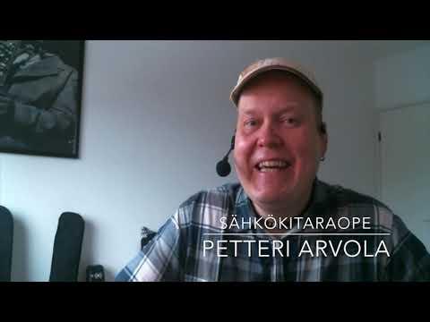 Soitinesittelyvideo SÄHKÖKITARA