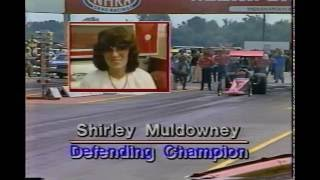 Drag Racing Shirley Muldowney Top Fuel Dragster Crash Indianapolis Raceway Park 1983