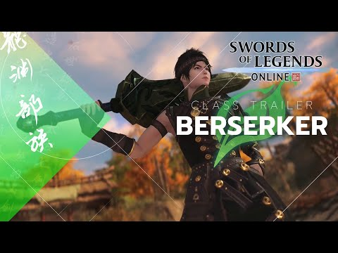 Swords of Legends Online Details Berserker In Latest Class Breakdown
