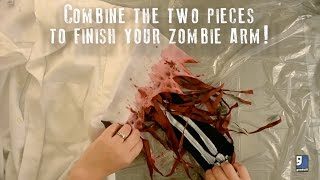 DIY Zombie Arm Tutorial
