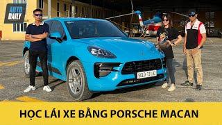 Hướng dẫn học lái xe nâng cao với Porsche Macan 2020
