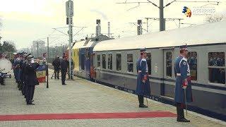 Cortegiul funerar al Regelui Mihai a plecat spre Curtea de Argeş cu Trenul Regal, din Gara Băneasa