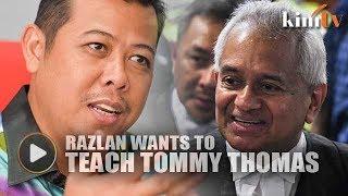 Razlan Offers Tommy Thomas BM Classes