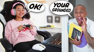 Doing The OPPOSITE OF WHAT MY PARENT'S Say For 24 Hours! | Tiana Wilson