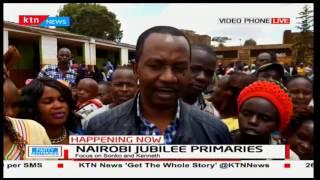 Aspirant Dennis Waweru is confident of Nairobi residents picking him under Jubilee