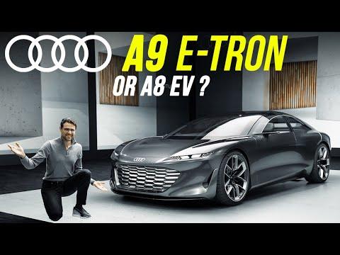 Audi A8 EV or Audi A9 e-tron? This will be the future Audi luxury EV! (Grandsphere)