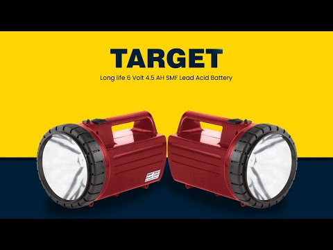 Target Rechargeable LED Torch