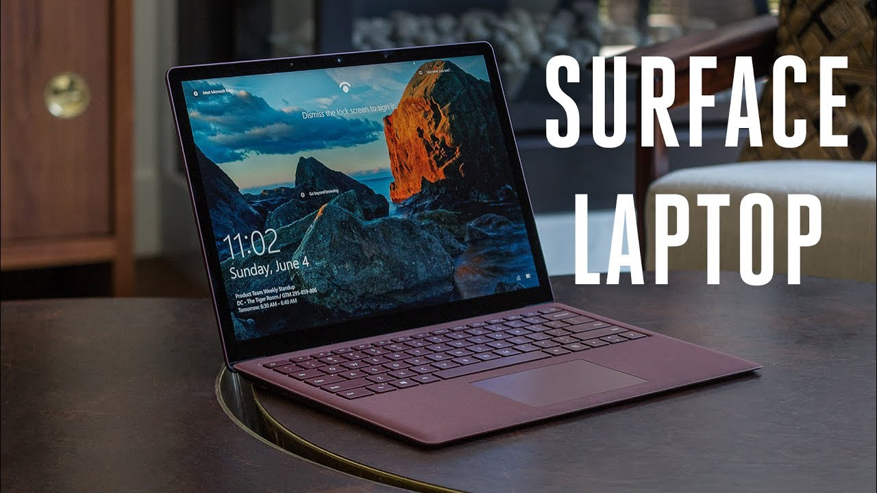 Surface Laptop review: Microsoft takes on the Air thumbnail