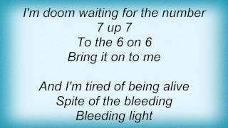 Danzig - Tired Of Being Alive Lyrics