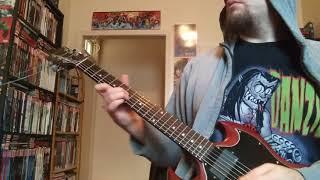 Kiss the Skull - Danzig (Guitar Cover)