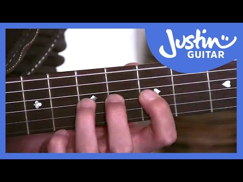 Basic Finger Workout (Guitar Lesson BC-135) Guitar for beginners Stage 3