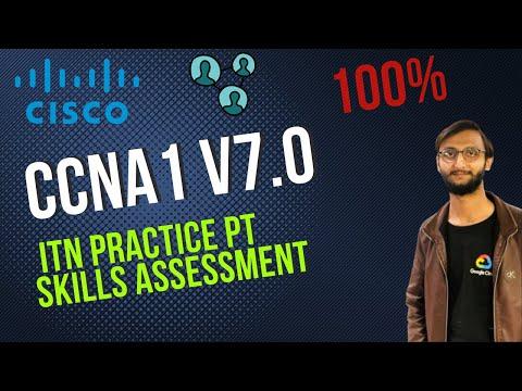 CCNA1 v7.0: ITN Practice PT Skills Assessment (PTSA) | CCNA ...